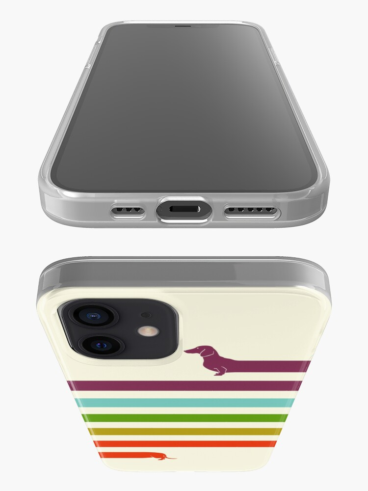 Alternate view of (Very) Long Dachshund iPhone Case & Cover