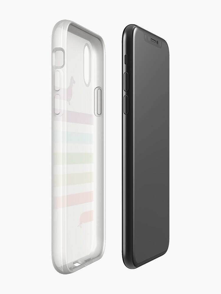 Vista alternativa de Vinilos y fundas para iPhone (Very) Long Dachshund