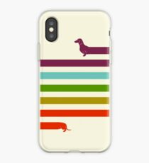 (Very) Long Dachshund iPhone Case