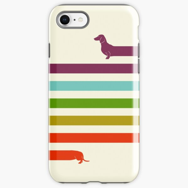 (Very) Long Dachshund iPhone Tough Case