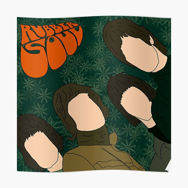 rubber soul Poster