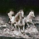 Three Horses by leapdaybride