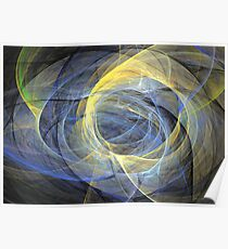 Delightful mood of abstracted mind Poster