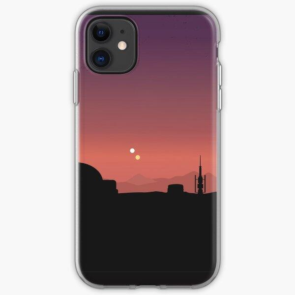 Purple Land iPhone Soft Case