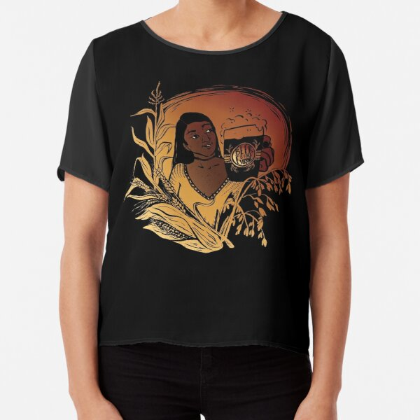 Beer is for Everyone  Chiffon Top