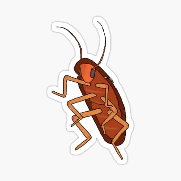 Dancing Cockroach Sticker