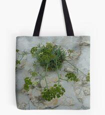 Wall Weed Tote Bag