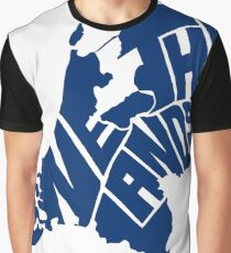 Netherlands Blue Graphic T-Shirt