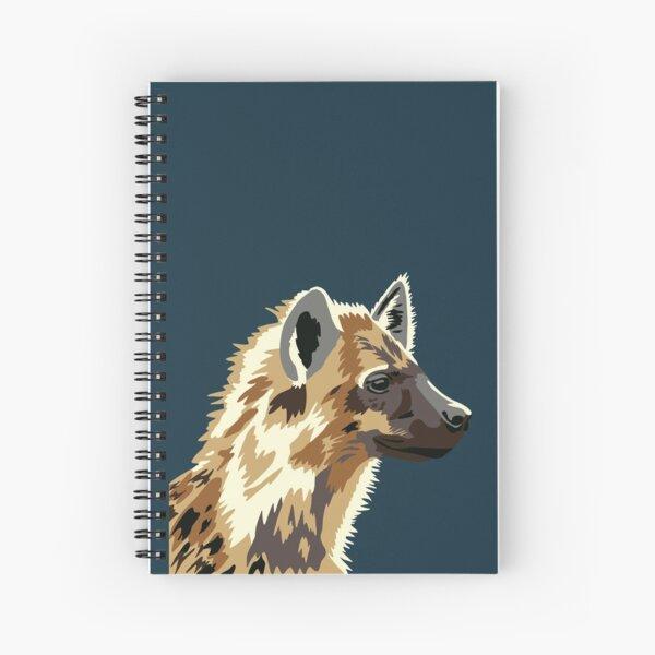 Spotted Hyena Portrait Spiral Notebook