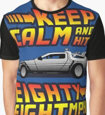Keep Calm and Hit Eighty-Eight MPH Graphic T-Shirt