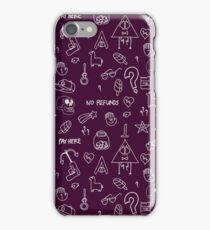 No Refunds. Gravity Falls. iPhone Case/Skin