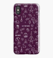 No Refunds. Gravity Falls. iPhone Case/Skin