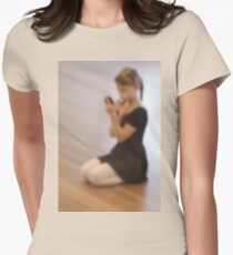 Ballet dreams Womens Fitted T-Shirt