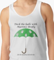 Deck the Halls with Martin's Brolly Tank Top