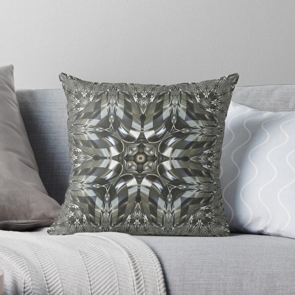Krazy Kaleidoscope 1039 Throw Pillow