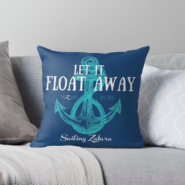 Let It Float Away Pillow Throw Pillow