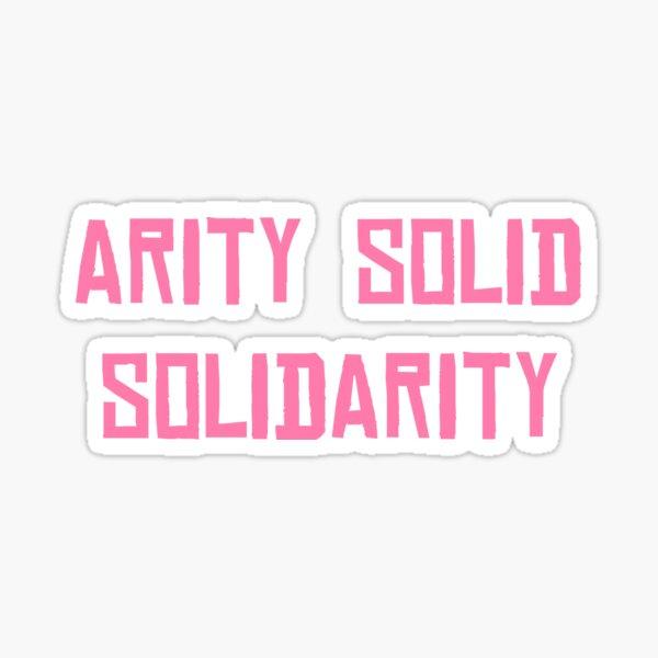Solidarity | Pink Sticker
