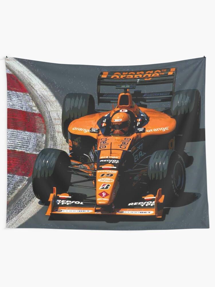 T-SHIRT Tank S Formula One 1 Orange Arrows Team NEW