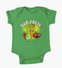 S'up Fresh?! Fresh Foods Movement One Piece - Short Sleeve