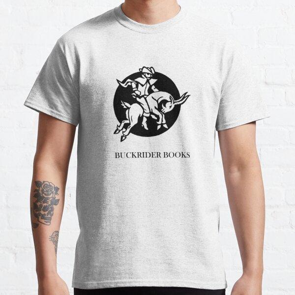 Buckrider Books (Black Logo) Classic T-Shirt