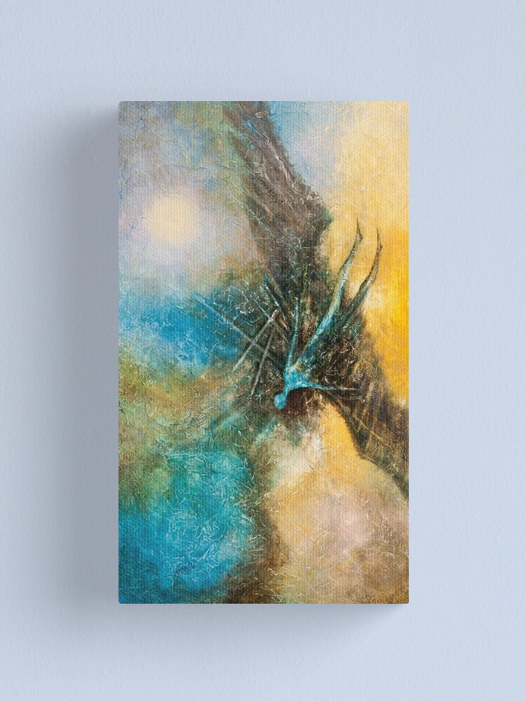 Alternate view of THE FALL OF ICARUS Canvas Print