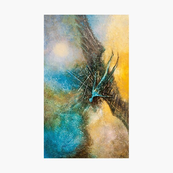 THE FALL OF ICARUS Photographic Print