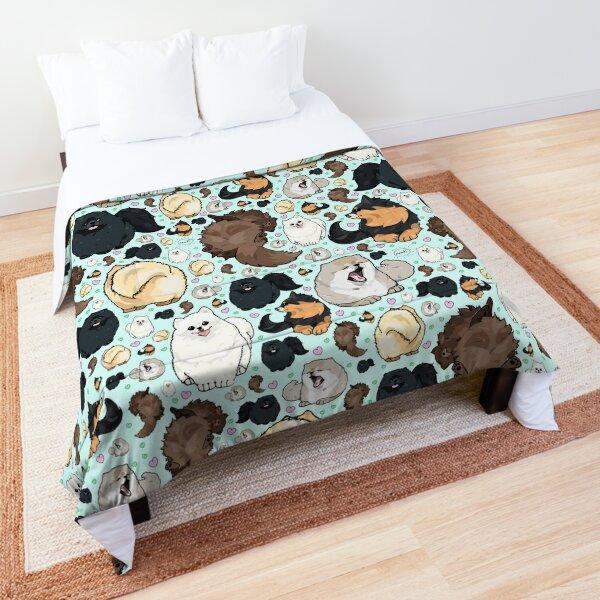 Pomeranians Comforter