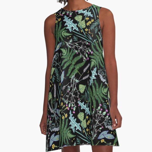 Sommertraum. A-Linien Kleid