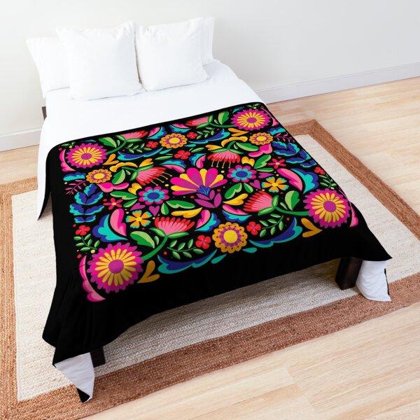 Guerrero Mexico Mexican Flowers Comforter