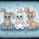 3 herzige Hasen von Pezi-Creation