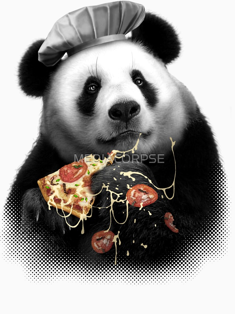 PANDA LOVES PIZZA | Unisex T-Shirt
