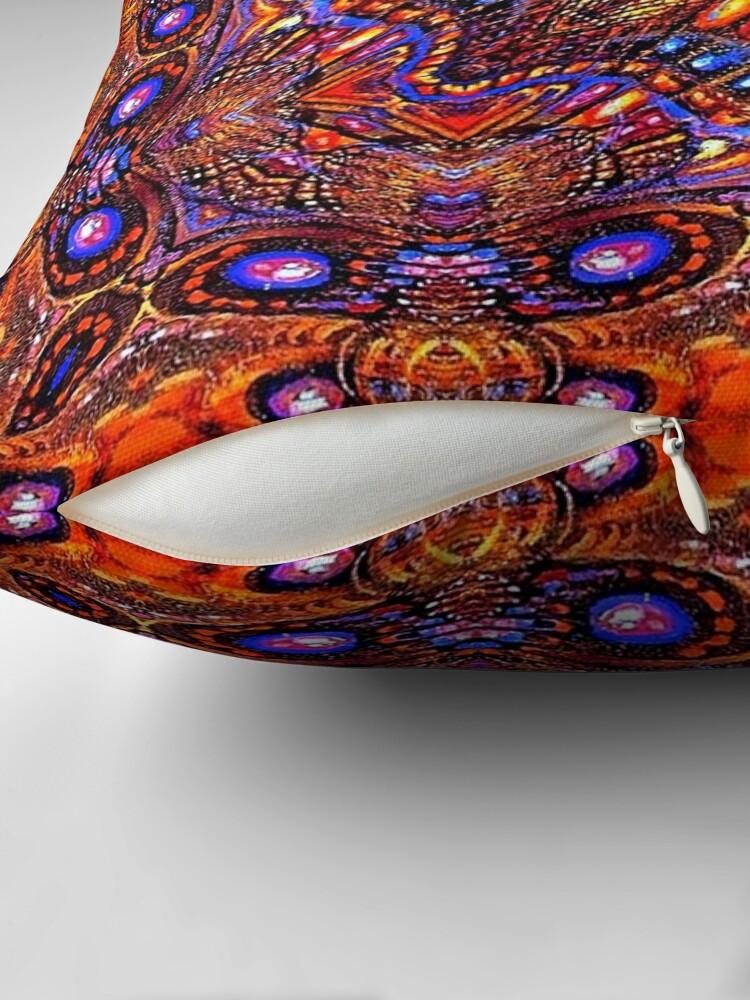 Alternate view of Krazy Kaleidoscope 1041 Throw Pillow