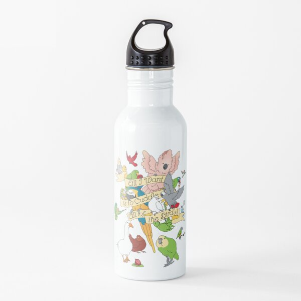 Cuddle All The Birds Water Bottle