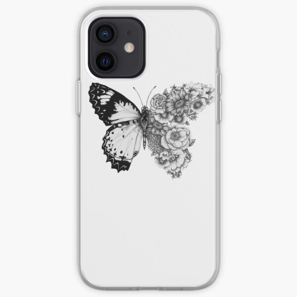 Butterfly in Bloom iPhone Soft Case