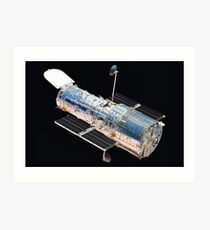 Time Machine by Hubble Art Print