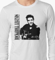 ELVIS PRESLEY - LEGENDS OF ROCK AND ROLL Long Sleeve T-Shirt