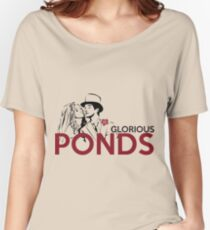 Glorious Ponds Women's Relaxed Fit T-Shirt
