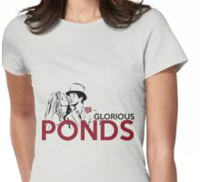 Glorious Ponds Womens Fitted T-Shirt