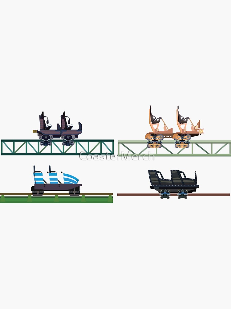 Hansa Park Coaster Cars Design by CoasterMerch