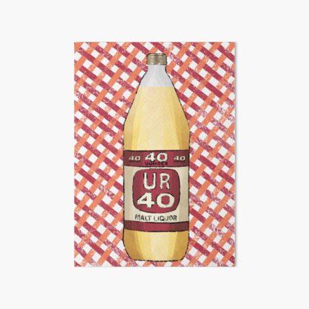 Happy 40th Birthday Art Board Print