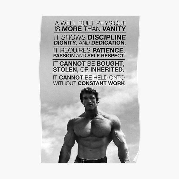 Arnold Schwarzenegger: Un physique bien construit est plus qu'une vanité (HD) Poster
