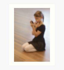 Ballet dreams Art Print