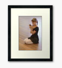 Ballet dreams Framed Print