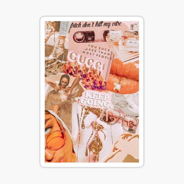 Vsco Aesthetic Collage Wallpaper Sticker By Jogradydesign Redbubble