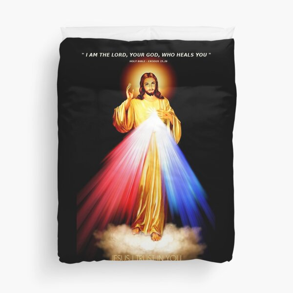 Lord Jesus -  I trust in you Duvet Cover