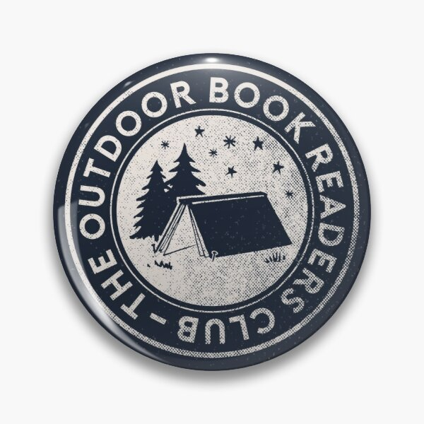 Outdoor Book Readers Club logo Pin