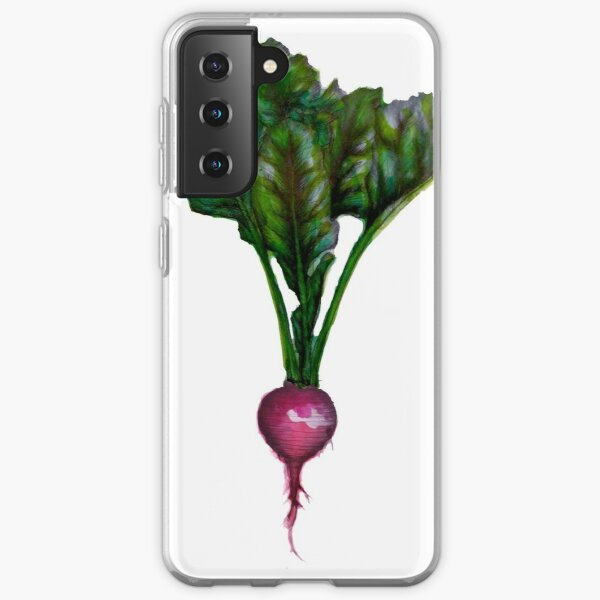 Rooted: The Radish Samsung Galaxy Soft Case