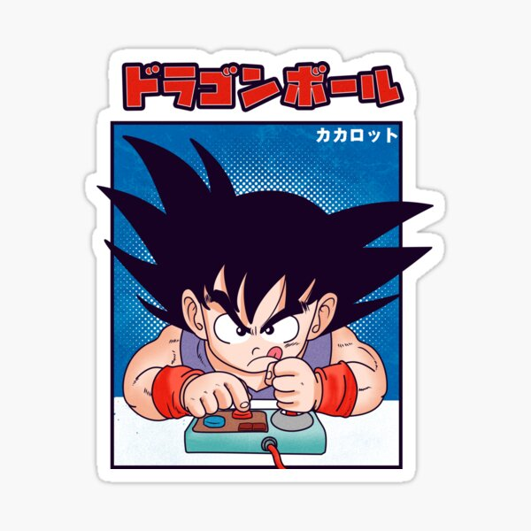 Dragon Ball Goku Pegatina