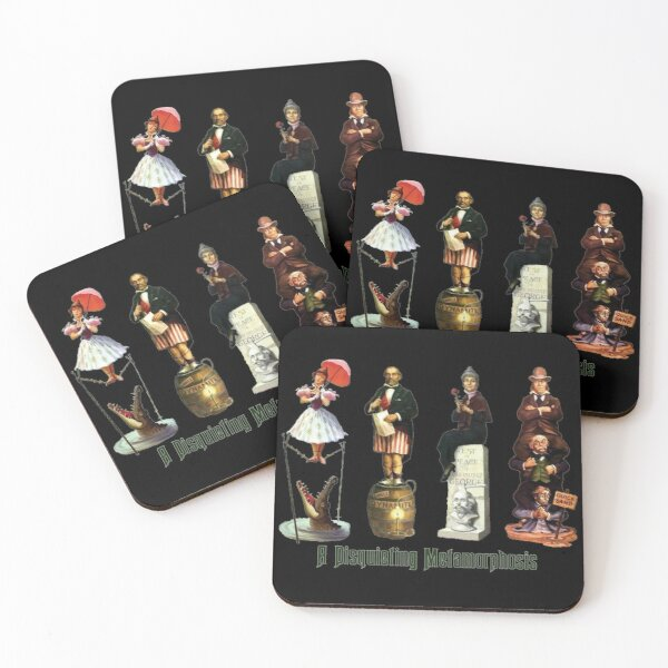 A Disquieting Metamorphosis Coasters (Set of 4)