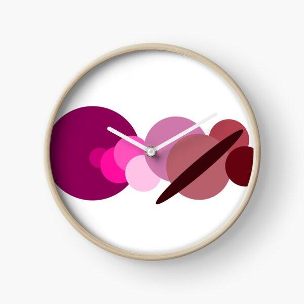 Lesbian Solar System Sticker  Clock